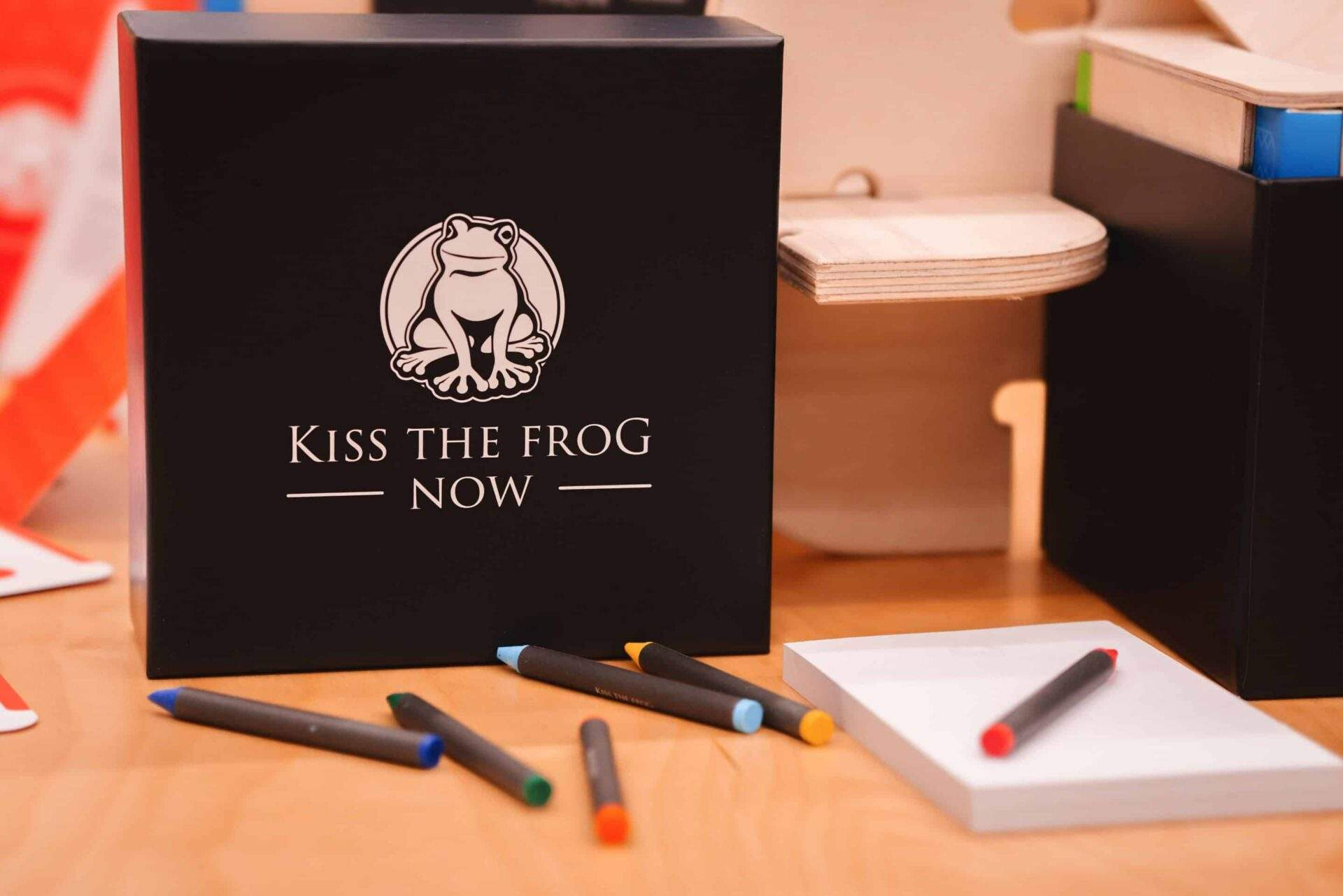 KissTheFrogNOW crayons