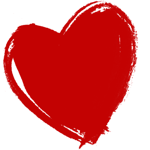 red heart transparent background 20